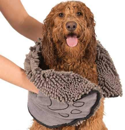 Dirty Dog Shammy Ultra Absorbent Microfiber Quick Drying Towel