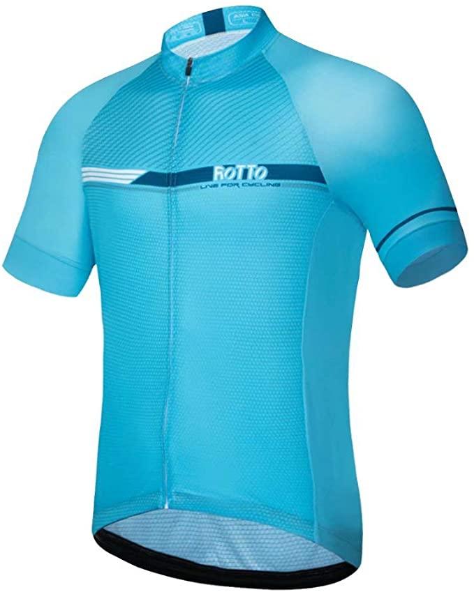 ROTTO Cycling Jersey Men Bike