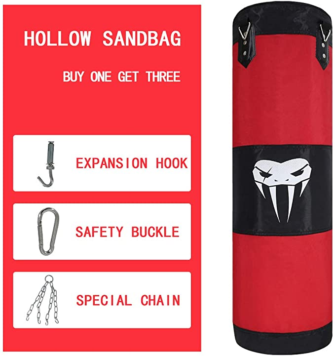 Fitness Muscle Training MMA Boxing Sandbag Without Filler