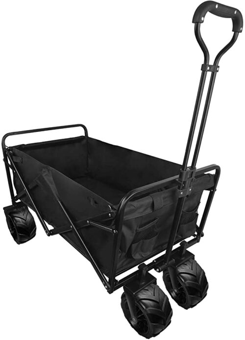 Foldable Wagon Cart with Wheels Utility Portable