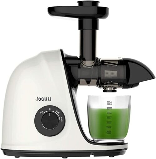 Jocuu Slow Masticating Juicer Extractor, Cold Press Juicer Easy to Clean