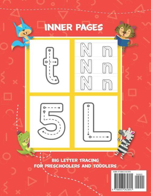BIG Letter Tracing for Preschooler