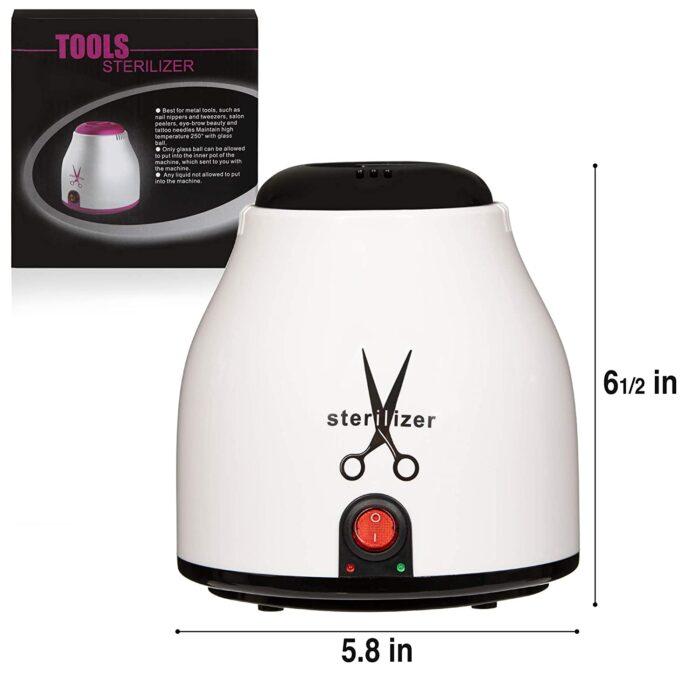 LUXEUP 96W Nail Sterilizer Pot