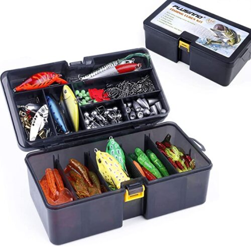 Fishing Lures Baits Tackle Including Crankbaits, Spinnerbaits, Plastic Worms, Jigs,