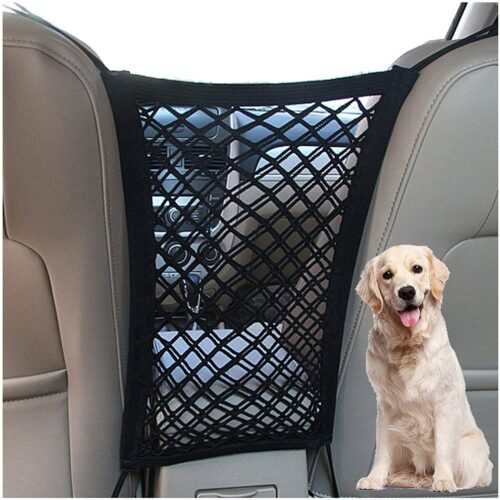 DYKESON Dog Car Net Barrier Pet Barrier with Auto Safety
