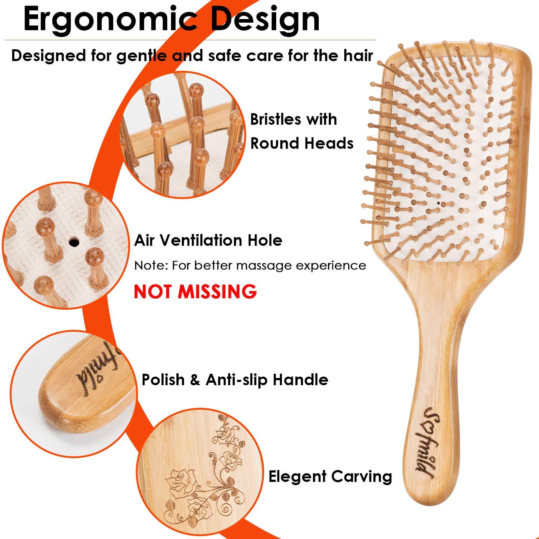 Hair Brush- Wooden